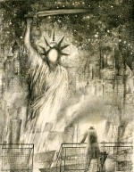 Amerika 1977-The Ominous Statue of Liberty